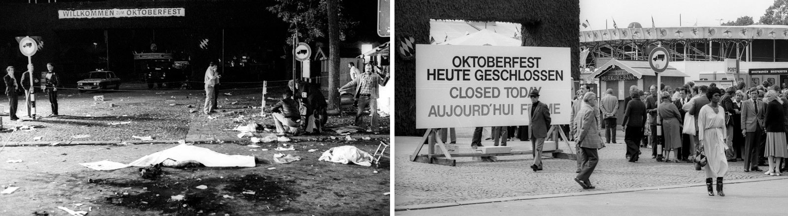 Anschlag auf das Oktoberfest im Jahr 1980.