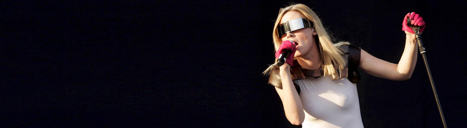 Róisín Murphy auf der Bühne