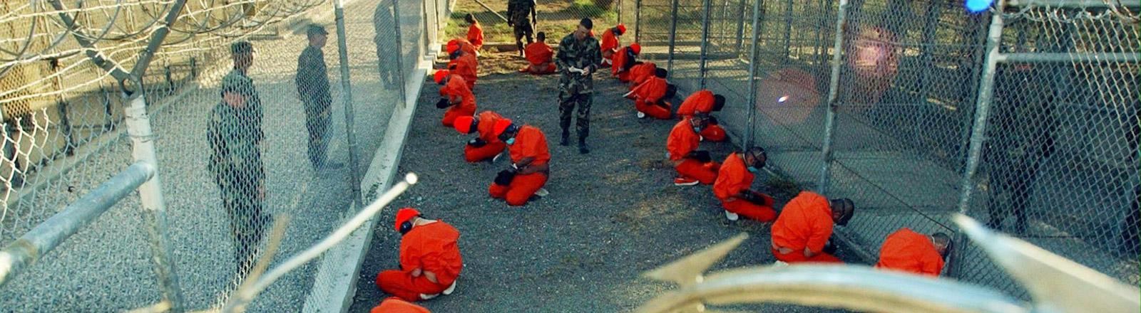 Gefangene in Guantanamo