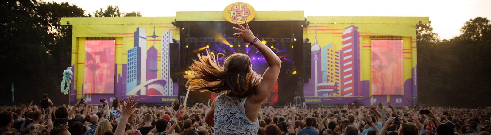 Eindruck vom Lollapalooza Festival
