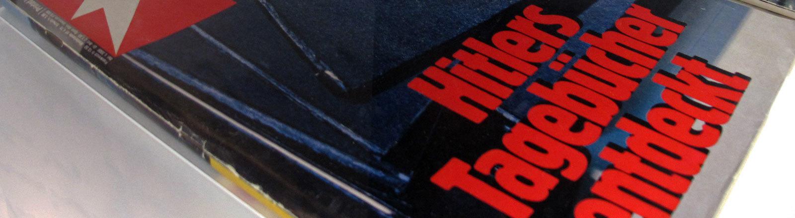 """Cover des Magazins """"Stern"""". Ausgabe Hitler-Tagebücher."""