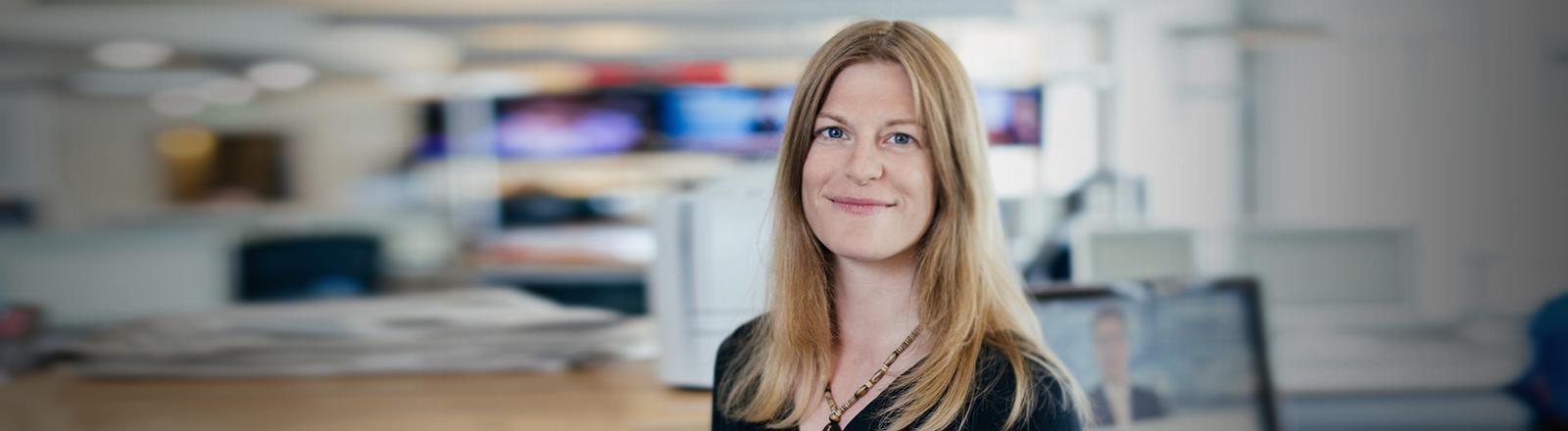 Portrait der Journalistin Katja Paysen-Petersen
