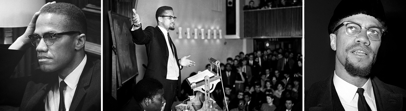 Der Bürgerrechtler Malcolm X.