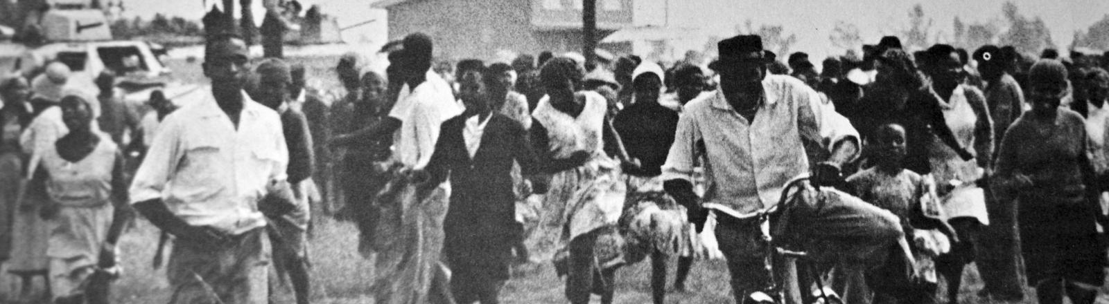 Das Massaker von Sharpeville