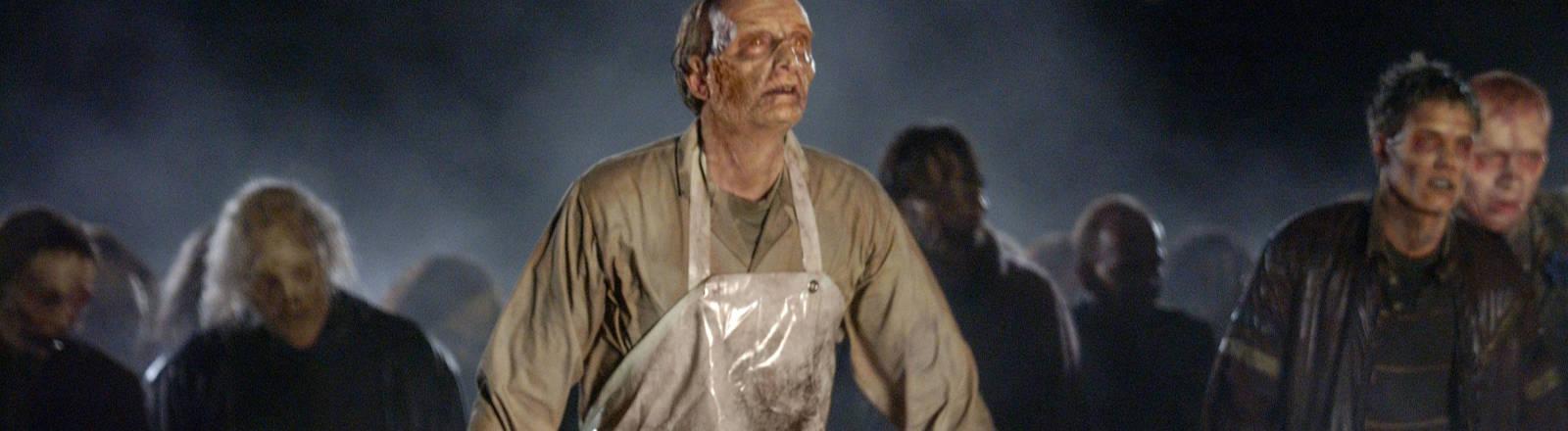 Ausschnitt aus einem Zombie-Film