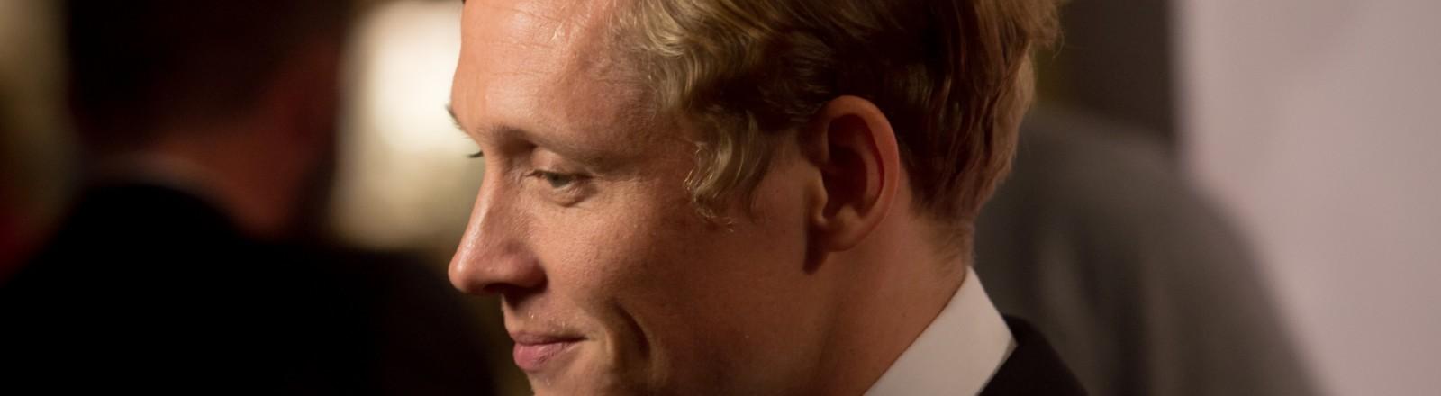 Schauspieler Matthias Schweighöfer auf einer Gala.