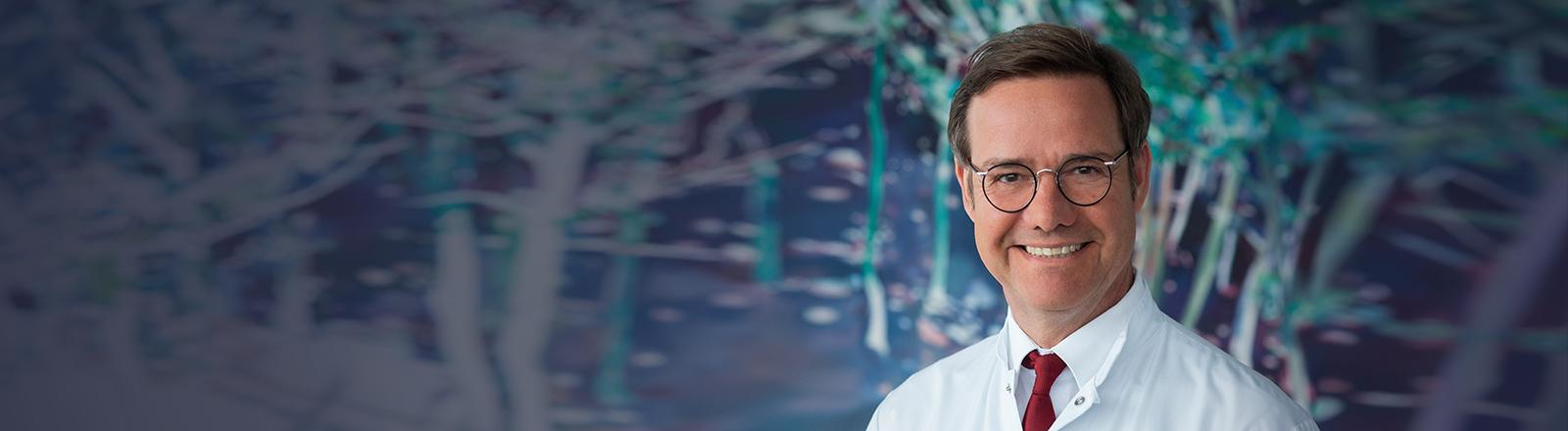 Portrait des Kardiologen und Sportmediziners Martin Halle