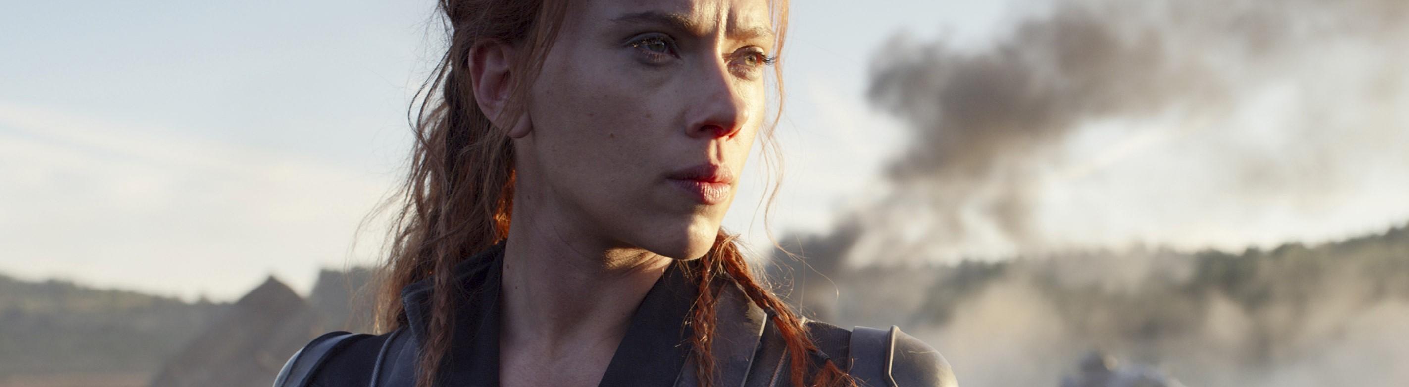 """Szene aus """"Black Widow"""" mit Scarlett Johansson"""