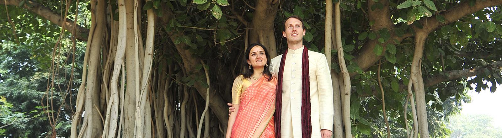 Saskya Jain (links) und Christopher Kloeble