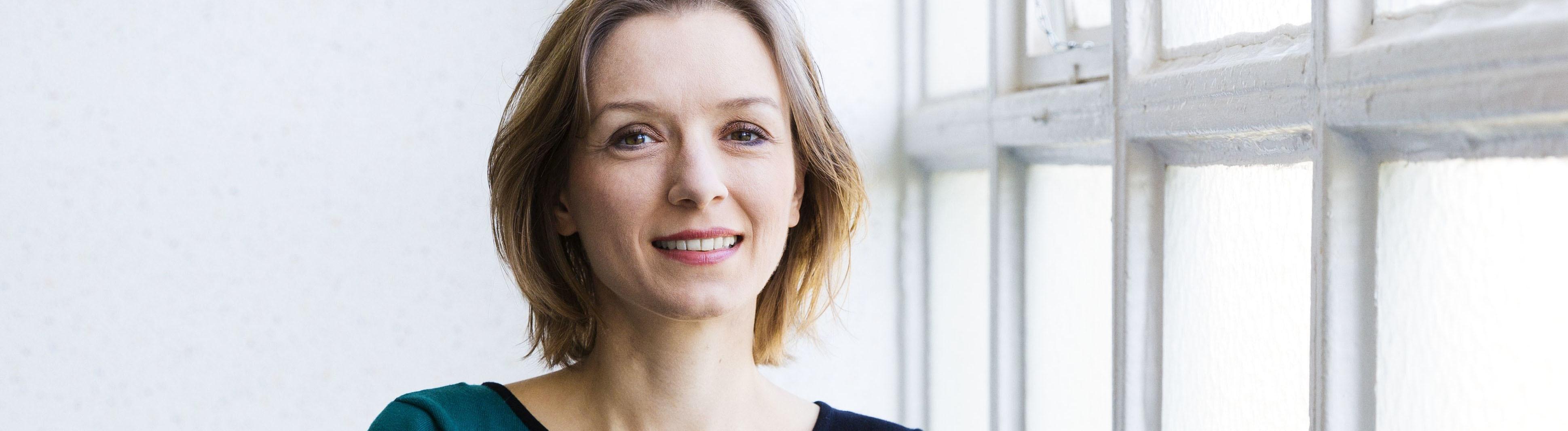 Die Philosophin Lisa Herzog