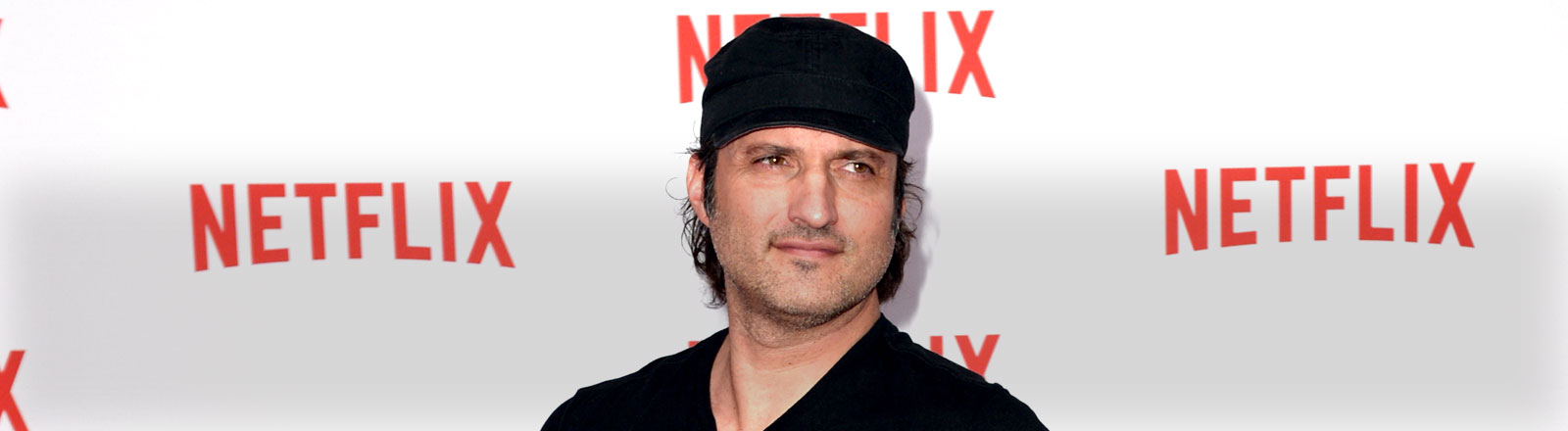 Regisseur Robert Rodriguez kommt am 16.09.2014 in Berlin zu der Netflix Party.