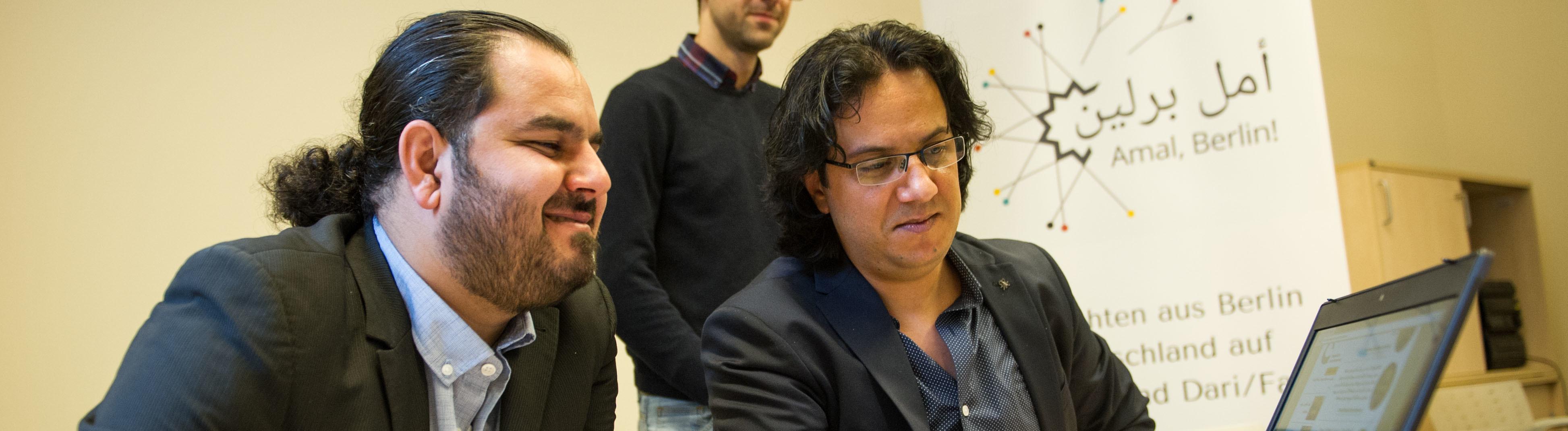 Das Projekt Amal Berlin! an der Evangelischen Journalistenschule in Berlin