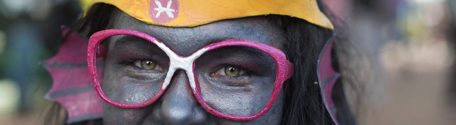 Emma Cothen, 17, aus San Diego, hat sich für die Comic Con in San Diego als Feferi Peixes verkleidet.