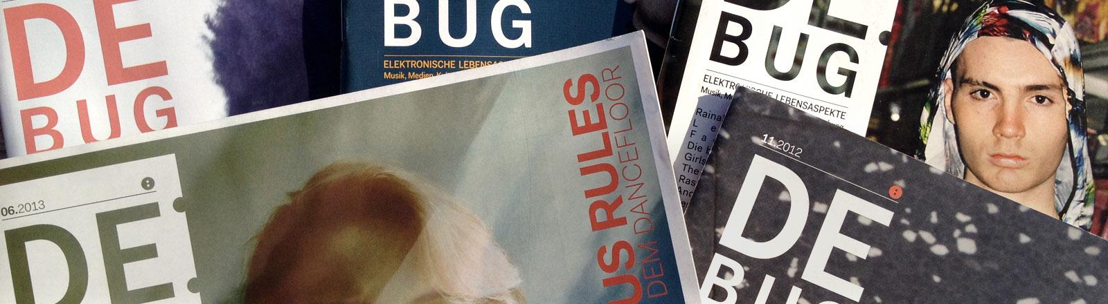 Das Magazin für elektronische Lebensaspekte De:Bug