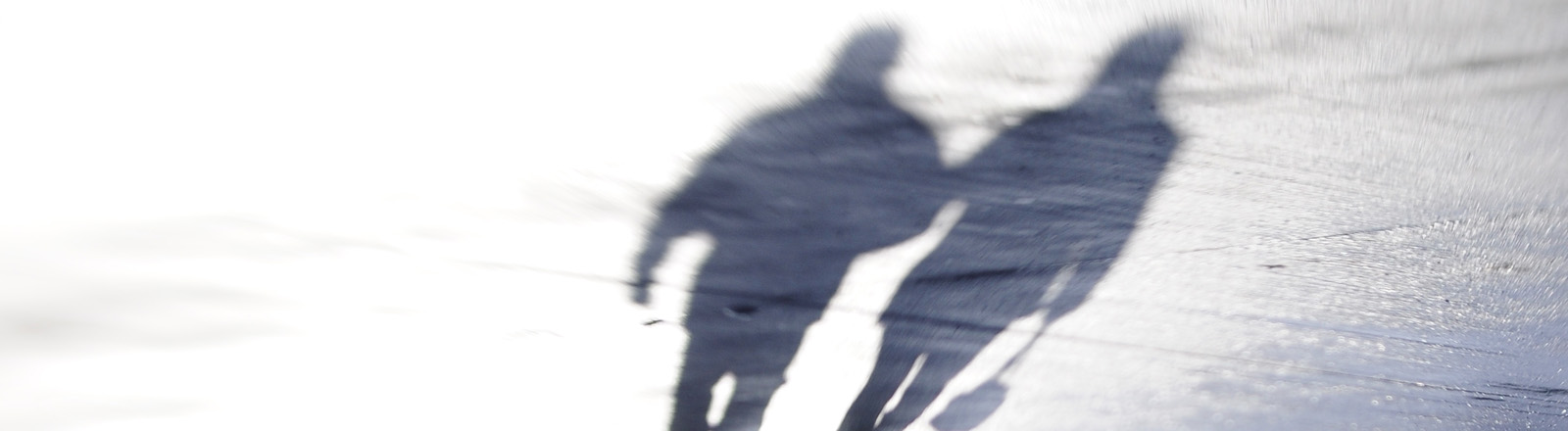 Der Schatten eines Paares