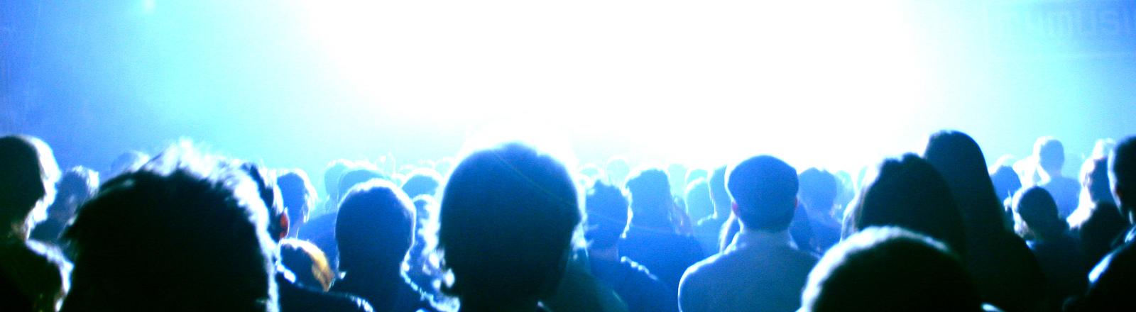 Zuschauer in einem Kino