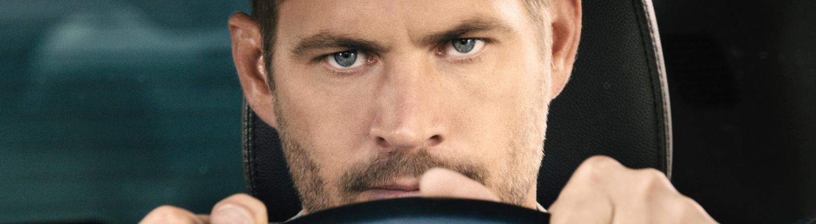 """Der Schauspieler Paul Walker in einer Szene des Films """"Fast & Furious 7"""""""