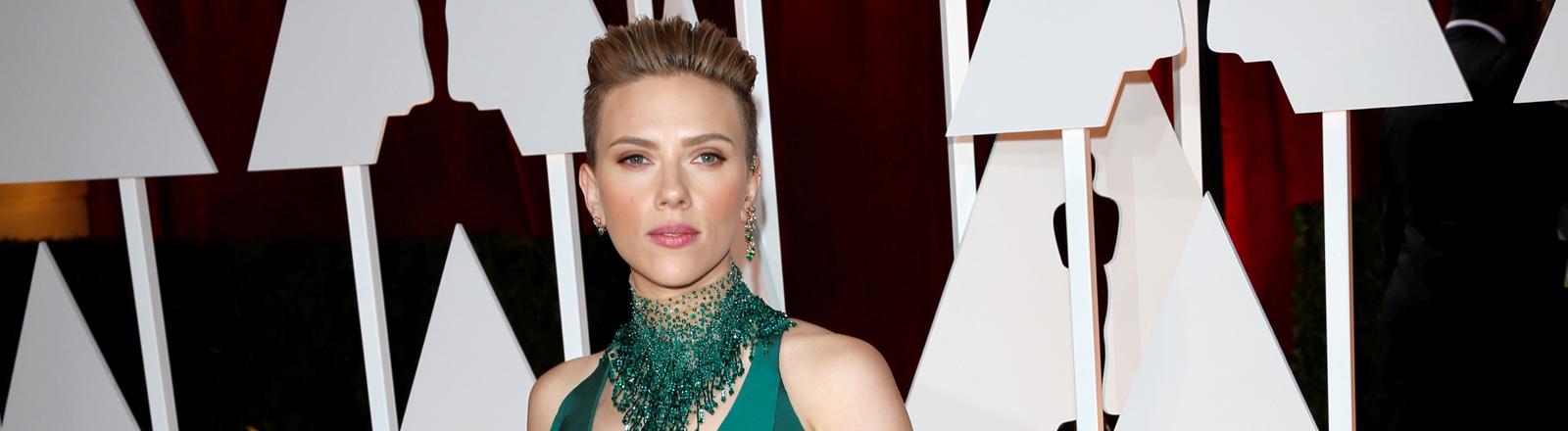 Scarlett Johansson bei der Oscar-Verleihung am 22. Februar 2015