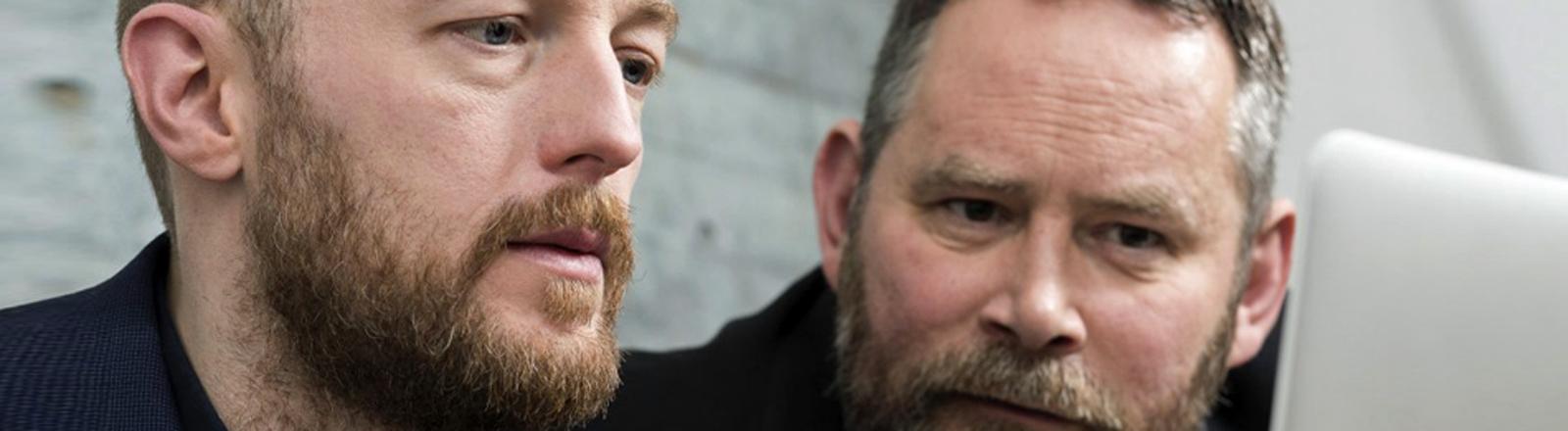 Die Gründer: Boris Rosenkranz (l.) und Stefan Niggemeier