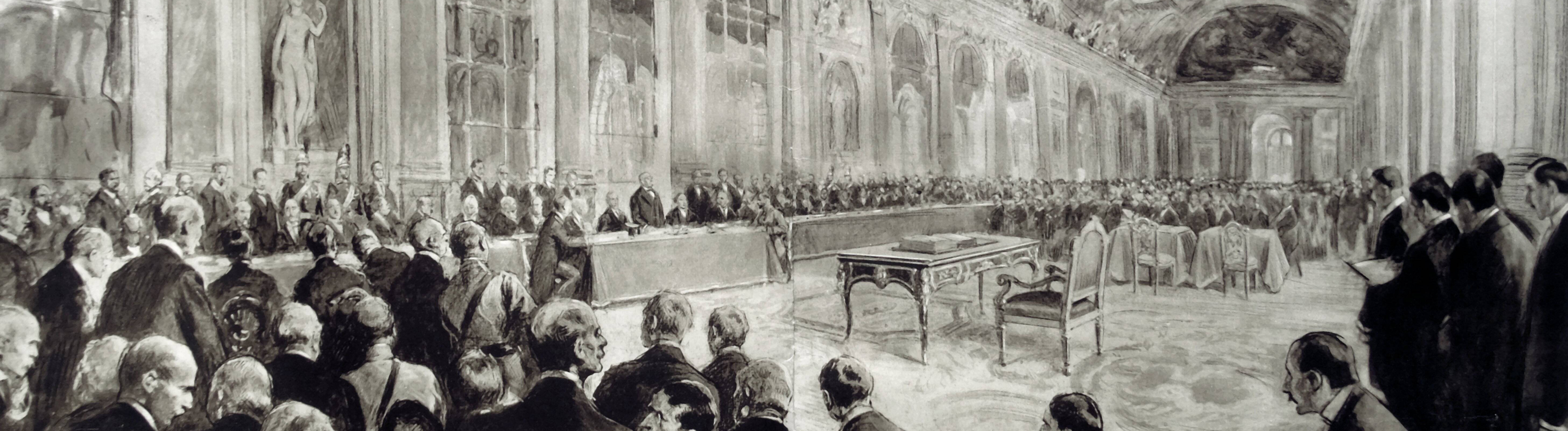 Treaty of Versailles is finalised by delegates to the peace conference June 1919