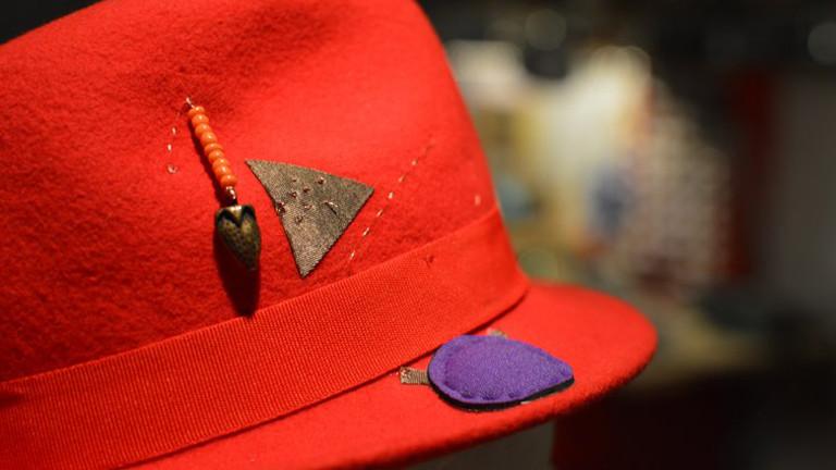 Der fertige Hallo-Hut