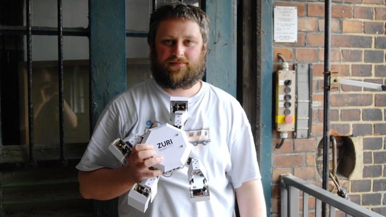 -Industriedesigner Daniel Kocyba ist einer der Väter des Zoobotics