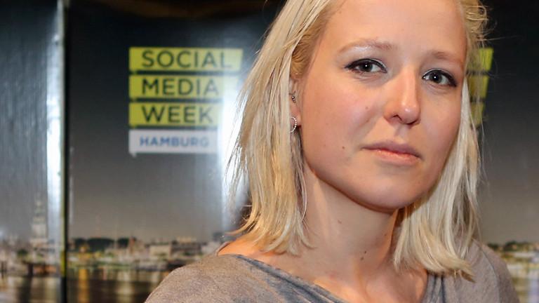 Juliane Leopold ist die Chefredakteurin von Buzzfeed.