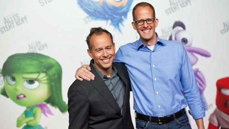 """Jonas Rivera und Pete Docter sind die Macher von """"Alles steht Kopf""""."""