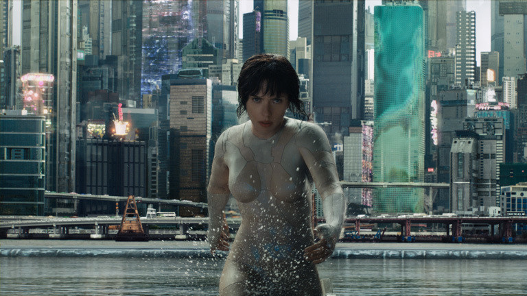 """Ghost in the Shell"" mit Scarlett Johanson"