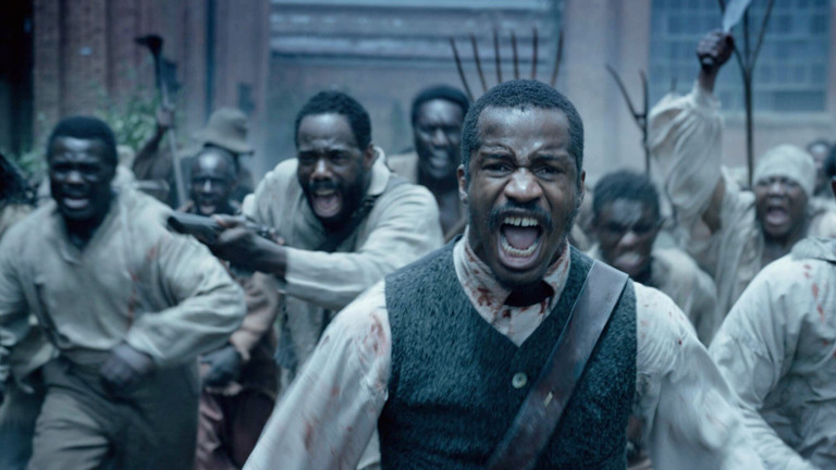 """Eine Szene aus dem Film """"Birth of a nation""""."""
