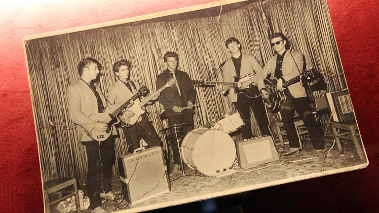 Die Beatles 1960 im Club Indra