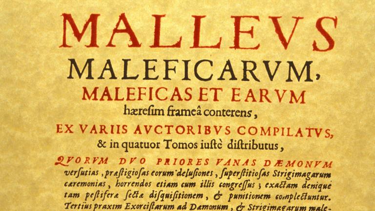 """Der Hexenhammer """"Malleus maleficarum"""""""