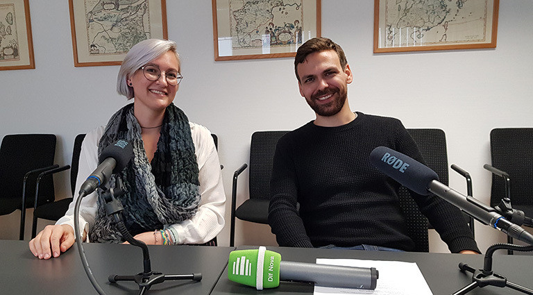 Sanja Klein und Andreas Baranowski, Universität Gießen