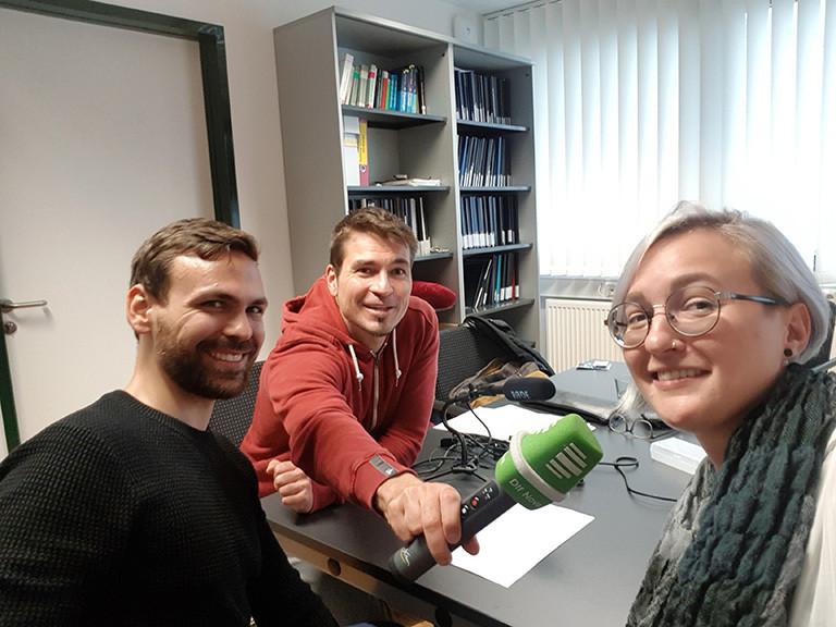Andreas Baranowski, Till Opitz und Sanja Klein