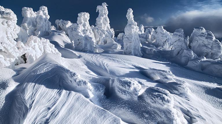 Winter am Erzgebirgskamm