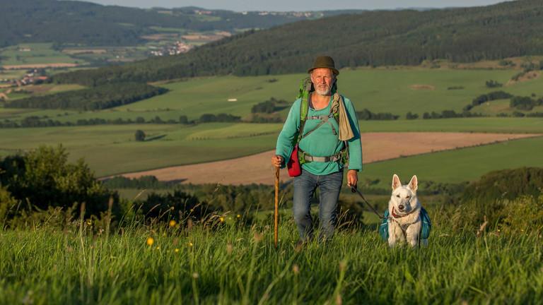 Mario Goldstein mit Hund