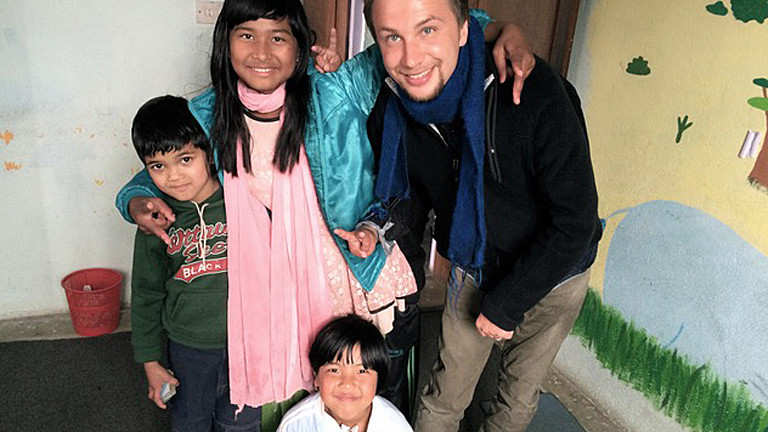 Benjamin Lebert in Nepal