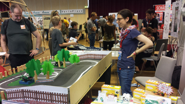 Szene von der Maker Faire Hannover