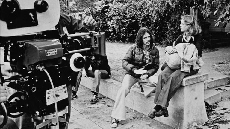 John Carpenter und Jamie Lee Curtis im Jahr 1978
