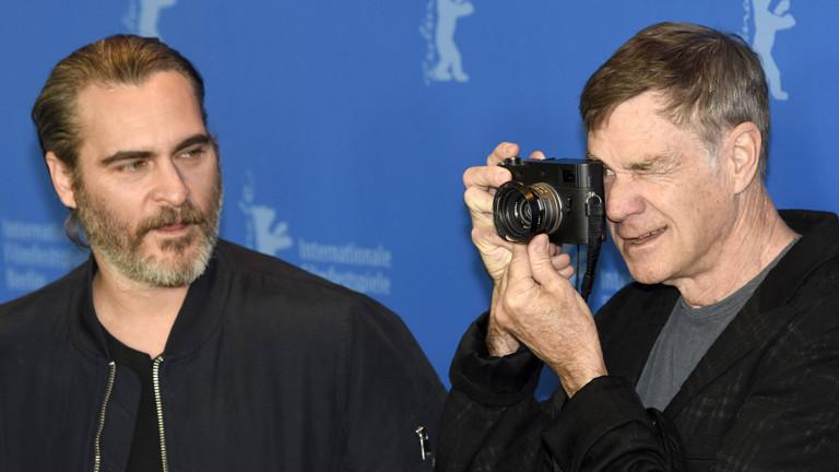 Joaquin Phoenix und Gus van Sant bei der Berlinale
