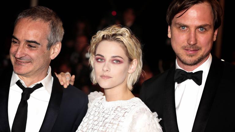 Olivier Assayas , Kristen Stewart und Lars Eidinger