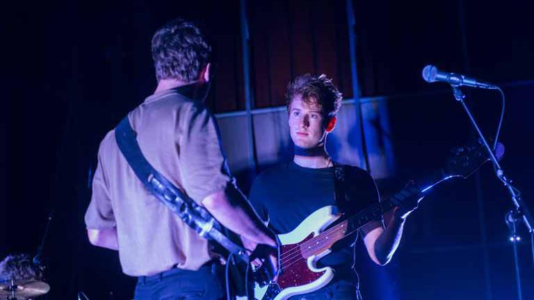 Sparkling auf der Bühne