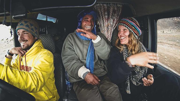 Lena Wendt und Uli Stirnat haben die vielen Begegnungen während ihrer Reise in einen Film gepackt.