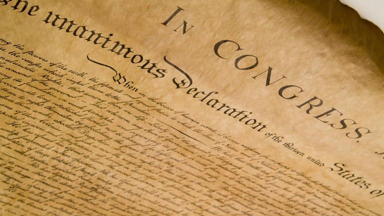 Unabhängigkeitserklärung Usa