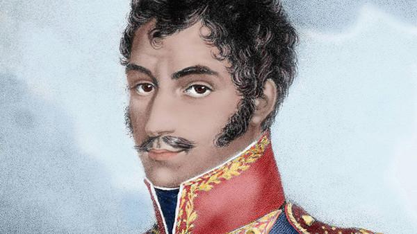 Der südamerikanische Unabhängigkeitskämpfer Simon Bolivar.