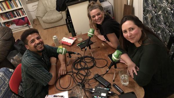 Dennis Chiponda im DLF-Nova-Gespräch mit Rahel Klein und Tina Howard
