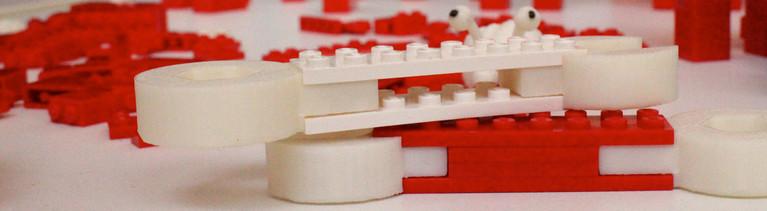 Legosteine aus dem 3-D-Drucker