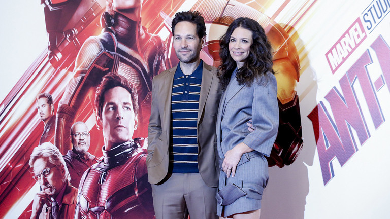"""''Ant-Man and the Wasp"""" - Paul Rudd (L) und Evangeline Lilly"""