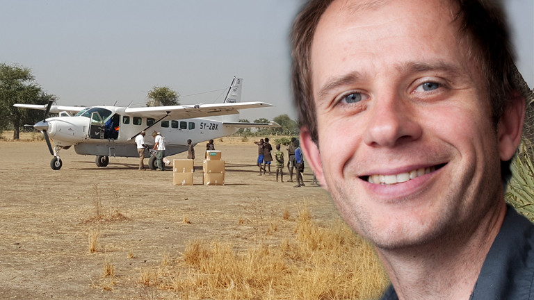 Christian Katzer engagiert sich bei Ärzte ohne Grenzen.