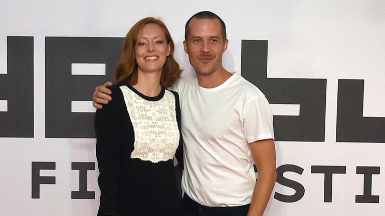 Lavinia Wilson und Barnaby Metschurat 2016 beim Filmfestival Oldenburg